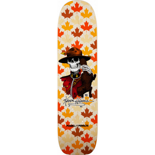 Powell Peralta Kevin Harris Mountie Freestyle Deck Natural - 7 x 26.6