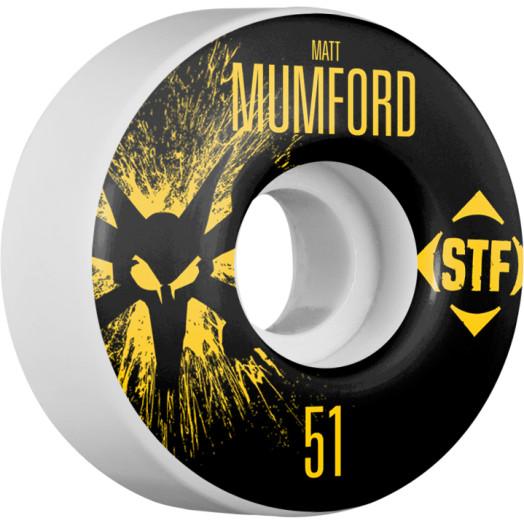BONES WHEELS STF Pro Mumford Team Wheel Splat 51mm 4pk