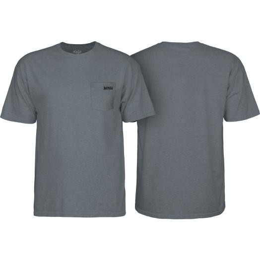 BONES WHEELS Petey T-Shirt Graphite Heather