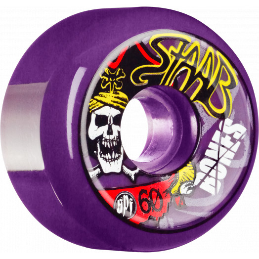 BONES WHEELS SPF Pro Staab Pirate II Wheel 60mm 4pk