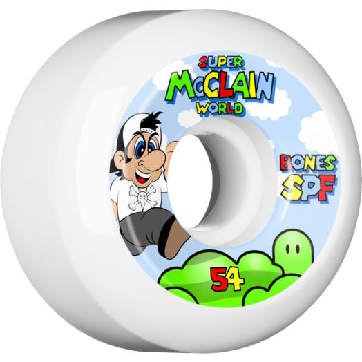 BONES WHEELS SPF Pro McClain Super Skateboard Wheel P5 54mm 104A 4pk