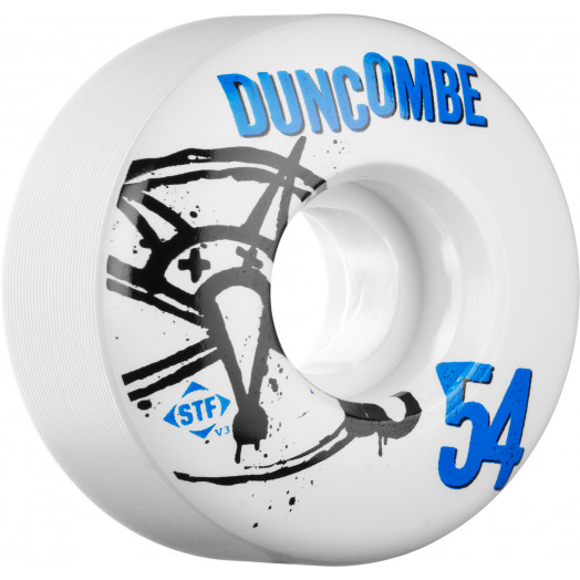 BONES WHEELS STF Pro Duncombe Numbers 54mm 4pk