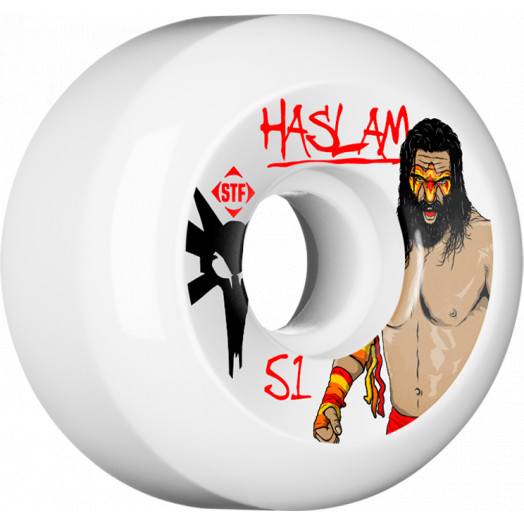 BONES WHEELS STF Pro Haslam WWF 51mm wheels 4pk