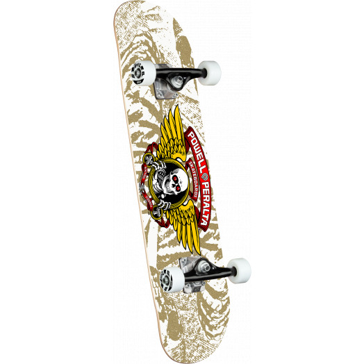 Powell Peralta Winged Ripper White Birch Complete Skateboard - 7 x 28