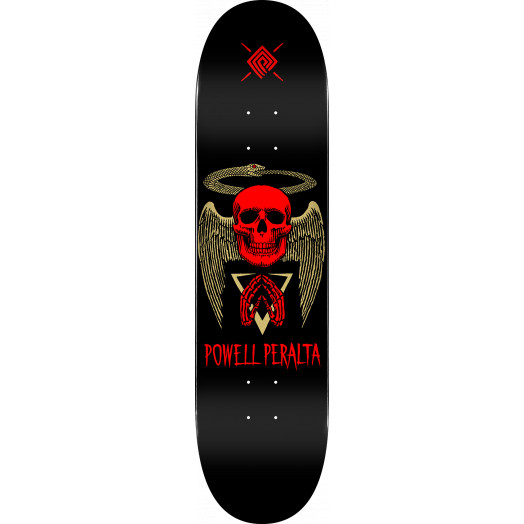 Powell Peralta Halo Snake Skateboard Deck Black - Shape 243 - 8.25 x 31.95