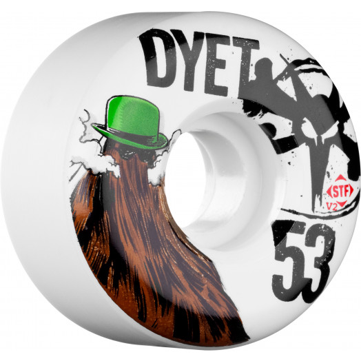 BONES WHEELS STF Pro Dyet Dye It 53mm 4pk