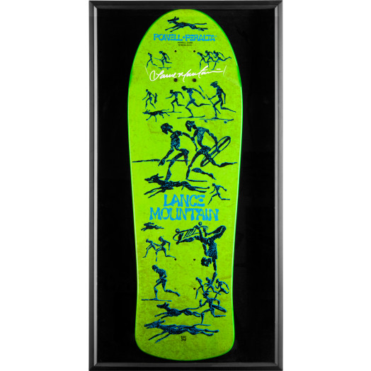 Bones Brigade Shadowbox Mountain BLEM Deck Signed by Mountain