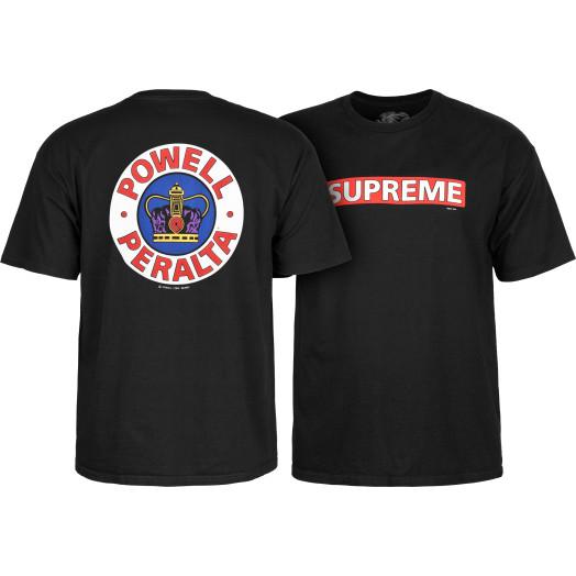 Powell Peralta Supreme T-shirt - Black