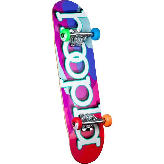 hoopla color camo Complete Skateboard - 7.5 x 28.65