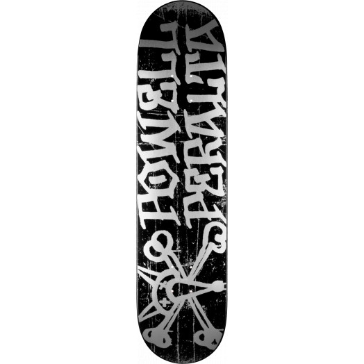 Powell Peralta Vato Rat Skateboard Deck Black - 8 x 32.125