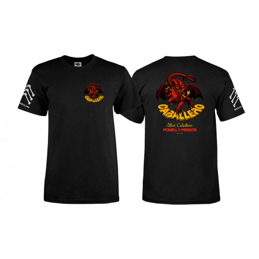 Bones Brigade® Caballero Dragon T-shirt - Black