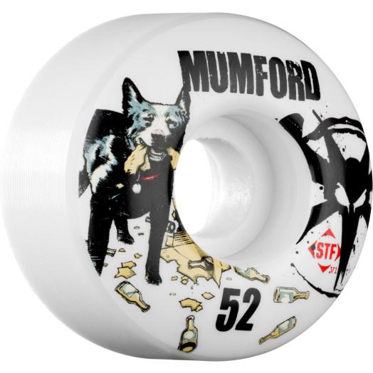 BONES WHEELS STF Pro Mumford Blue Dog 52mm (4 pack)