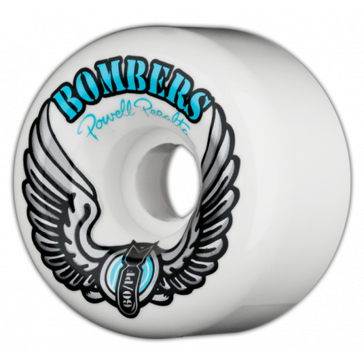 Powell Peralta Bombers 60mm PF - White (4 pack)