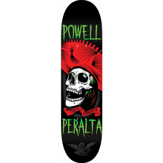 Powell Peralta Te Chingaste Blem Skateboard Deck Red - Shape 247 - 8 x 31.45