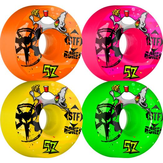 BONES WHEELS STF Party Pack Asst 52mm 4pk