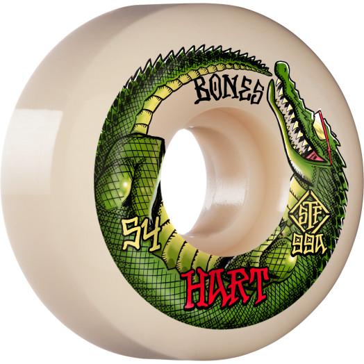 BONES WHEELS PRO STF Skateboard Wheels Hart Speed Gator 54mm V5 Sidecut 99A 4pk