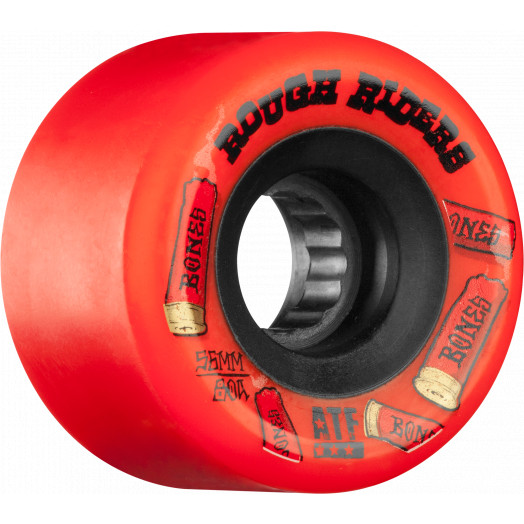BONES ATF Rough Riders Shotgun 56mm Skateboard Wheel 4pk