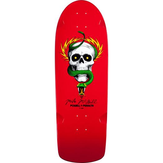Bones Brigade® Mike McGill Skull & Snake Reissue Skateboard Deck Red - 10 x 30.125