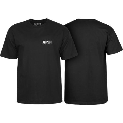 BONES WHEELS T-Shirt Home School'd Black