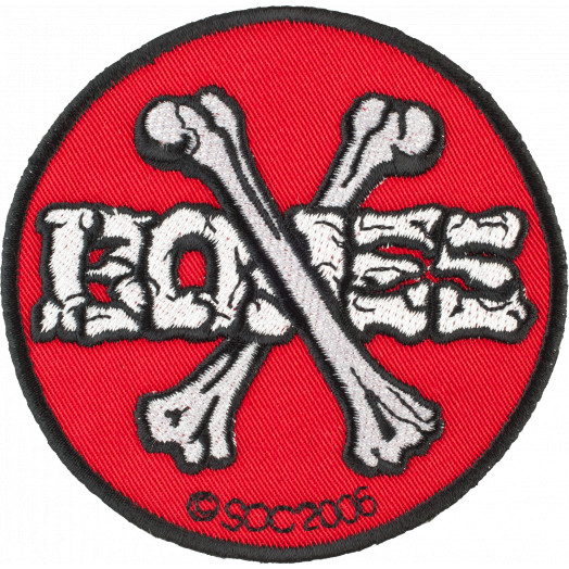 Powell Peralta Cross Bones Patch
