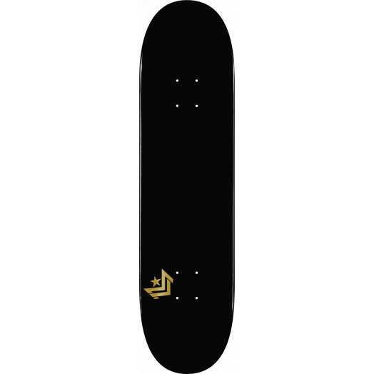 Mini Logo Chevron Skateboard Deck 181 Black - 8.5 x 33.5