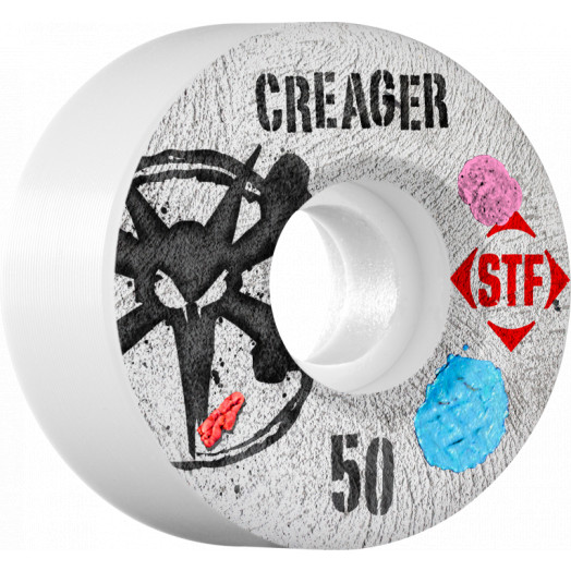 BONES WHEELS STF Pro Creager Bubblegum 50mm wheels 4pk