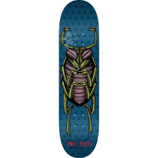 Powell Peralta Roach Skateboard Deck Blue - Shape 248 - 8.25 x 31.95