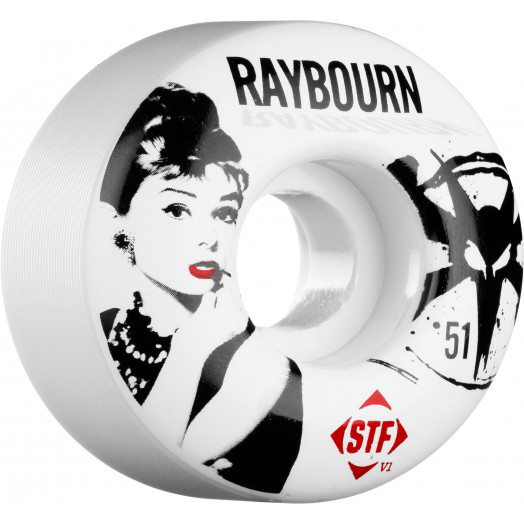 BONES WHEELS STF Pro Raybourn Hepbourn 51mm (4 pack)