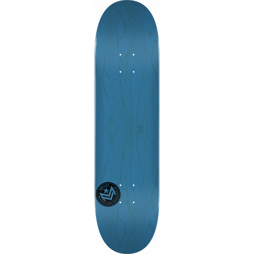 "MINI LOGO CHEVRON STAMP ""12"" SKATEBOARD DECK 242 BLUE - 8 X 31.45"