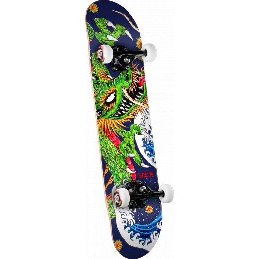 Powell Golden Dragon Cab Ink Dragon 2 Complete Skateboard - 7.625 x 31.625