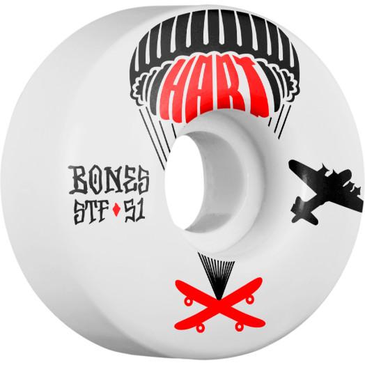 BONES STF Pro Hart Drops 51x30 V1 Skateboard Wheel 83B 4pk