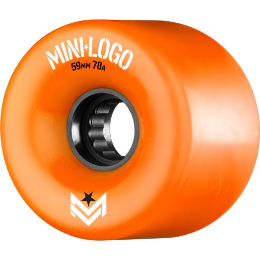 Mini Logo A.W.O.L. A-cut Orange 59mm 78A 4pk