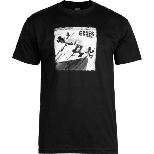BONES WHEELS T-shirt Roots Black