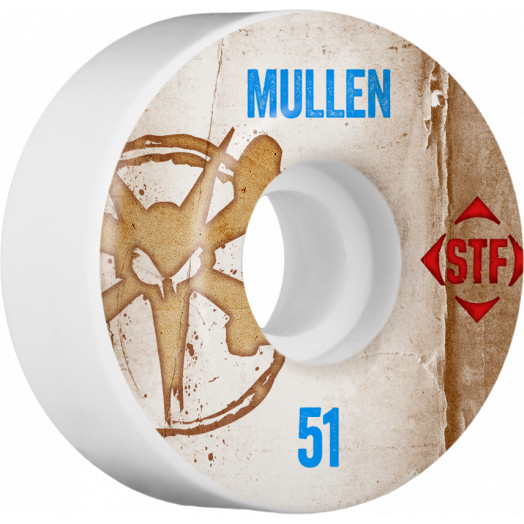 BONES WHEELS STF Pro Mullen Team Vintage Wheel 51mm 4pk