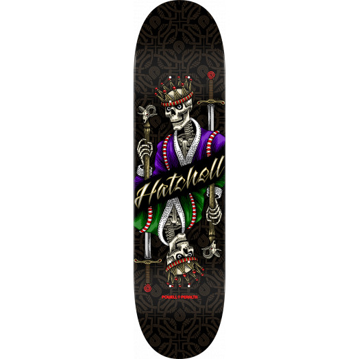 Powell Peralta Pro Ben Hatchell King Skateboard Deck - 8.5 x 32.08