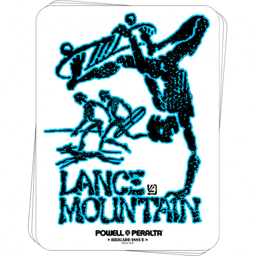 Bones Brigade® Mountain Future Primitive Sticker (20 pack)