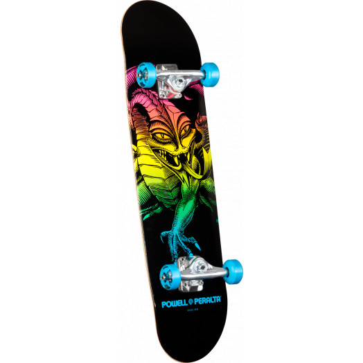 Powell Peralta Cab Dragon Complete Skateboard Blue - 7.75 x 31.75