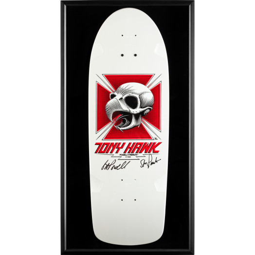Bones Brigade Shadowbox Hawk BLEM Deck Signed by GAP/Stacy