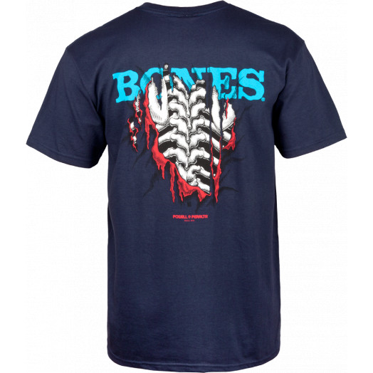 Powell Peralta Shred T-shirt - Navy