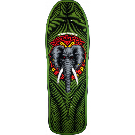 Powell Peralta Mike Vallely Elephant Blem Skateboard Deck Green 163 SP3