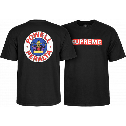 be8e837d9456 Powell Peralta Supreme T-shirt - Black - Skate One