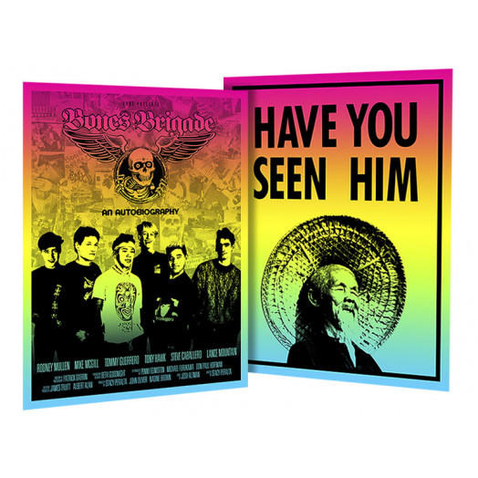 BONES BRIGADE: An Autobiography Colby Poster + Animal Chin Colby Poster Combo