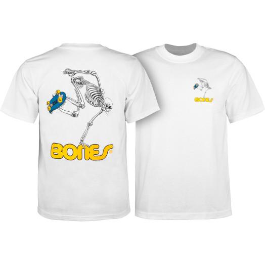 Powell Peralta Skateboarding Skeleton Youth T-shirt White