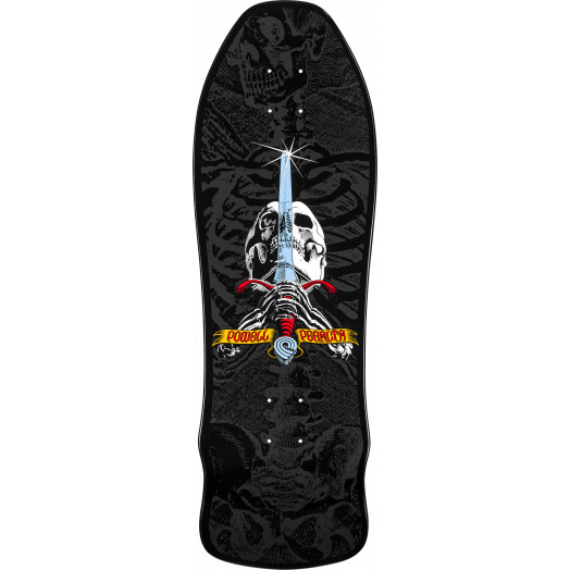 Powell Peralta Gee Gah Skull and Sword Skateboard Deck - 9.75 x 30