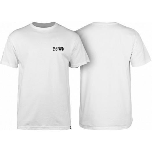 BONES WHEELS Micro T-shirt White
