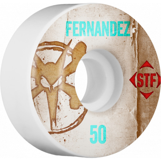 BONES WHEELS STF Pro Fernandez Team Vintage Wheel 50mm 4pk