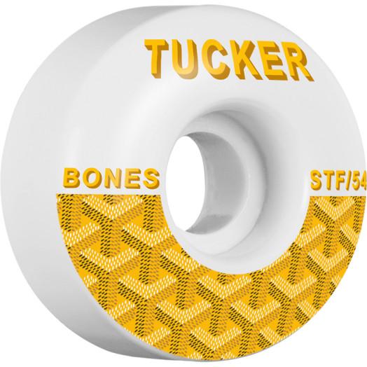 BONES WHEELS STF Pro Tucker Goyard Skateboard Wheels V1 Standard 54mm 4pk
