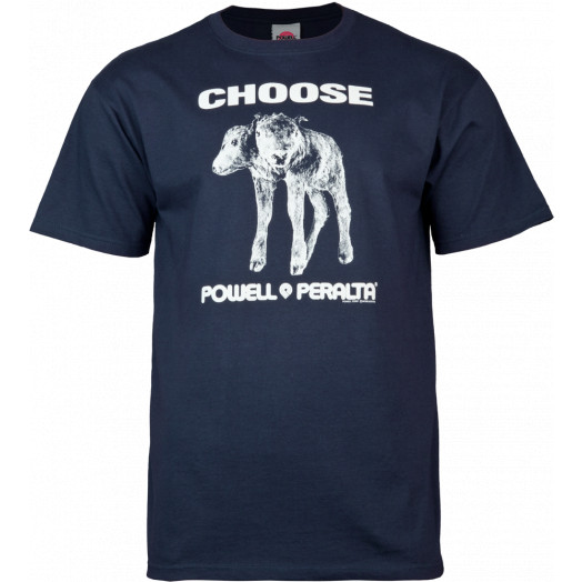 "Powell Peralta ""Choose"" T-shirt - Navy"