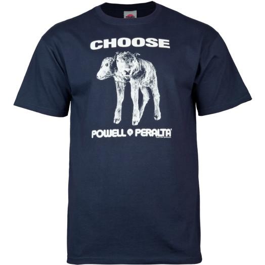 "Powell Peralta ""Choose"" T-shirt - Navy"