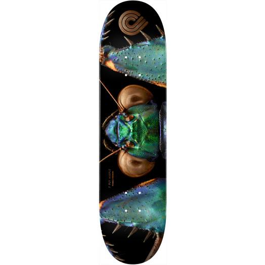 Powell Peralta BISS Bark Mantis Skateboard Blem Deck - 8.75 x 32.95